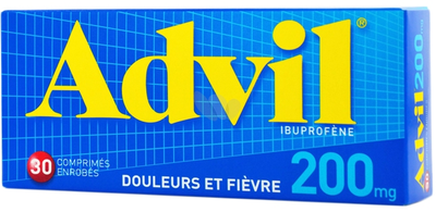 Image ADVIL 200MG Comprimé Bte de 30